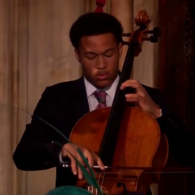 ; ; One more clip, this time of the 'Ave Maria' from the #RoyalWedding.